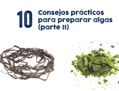 10 Consejos prácticos para preparar algas (parte II)
